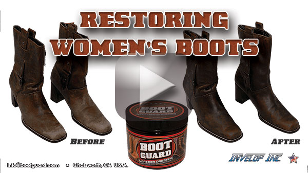 Boot Guard Leather Dressing Videos